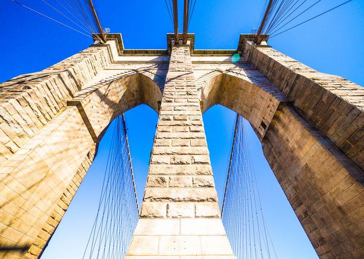 Brooklyn Bridge Tower - Dmitry Grab's Photography