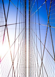 Brooklyn Bridge Sky Light - Dmitry Grab's Photography