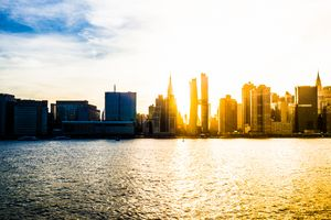 Manhatten Sunset - Dmitry Grab's Photography