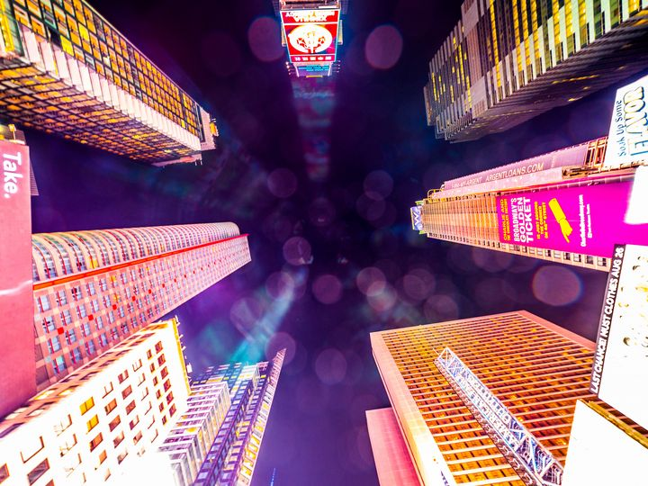 Times Square skies - Dmitry Grab's Photography