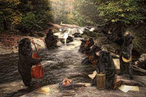 """River Bear Jam"""