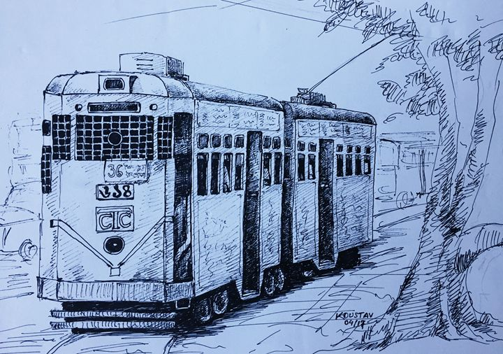 Tram in Kolkata - koustav
