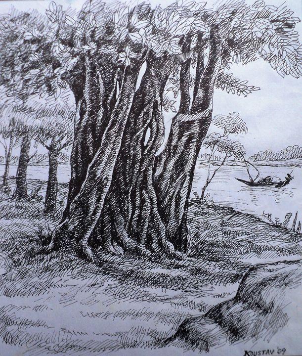 Ther river side - koustav