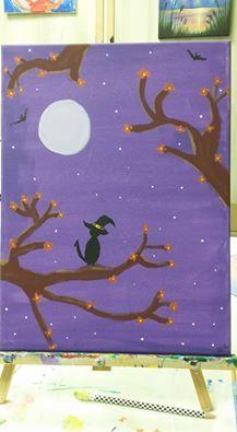 Witch Cat on an Autumn Evening -  Edwardgj190