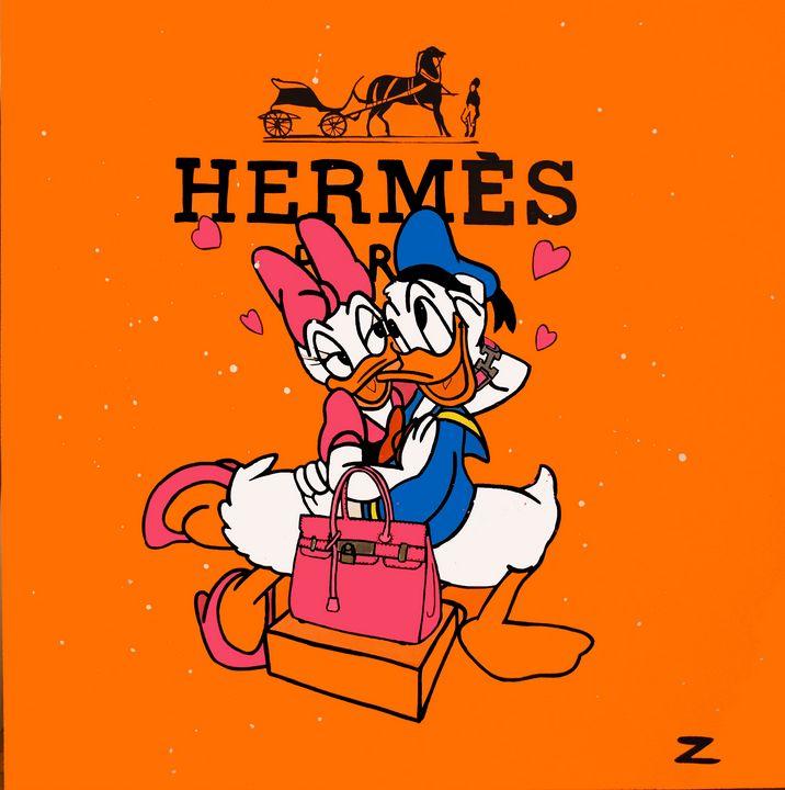 Hermes Love (Donald and daisy) - Loic ZGS