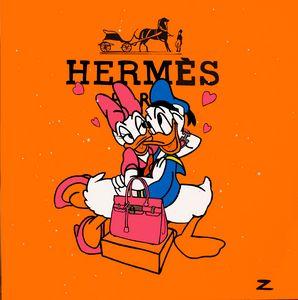 Hermes Love (Donald and daisy)