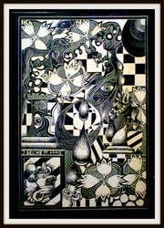 Psychedelic Scratchboard