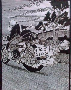MZ 250 Motorcycle