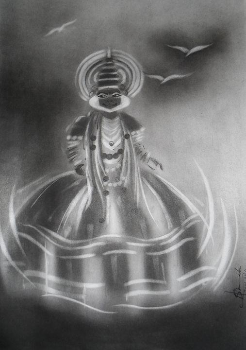 Kathakali Dance - AashishArt