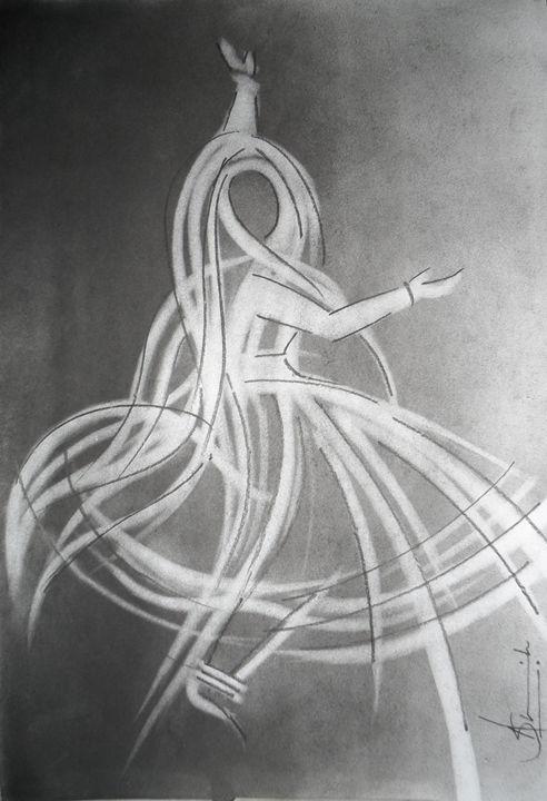 Kathak Dance 1 - AashishArt