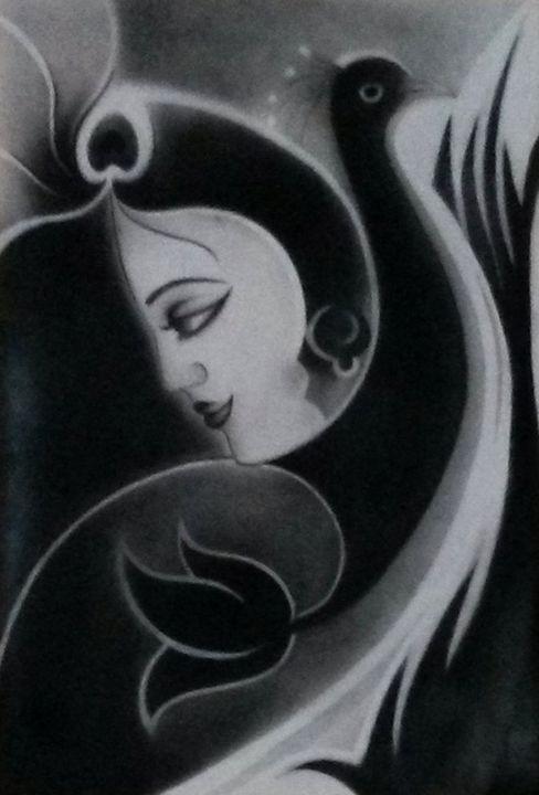 Mannmayura - AashishArt