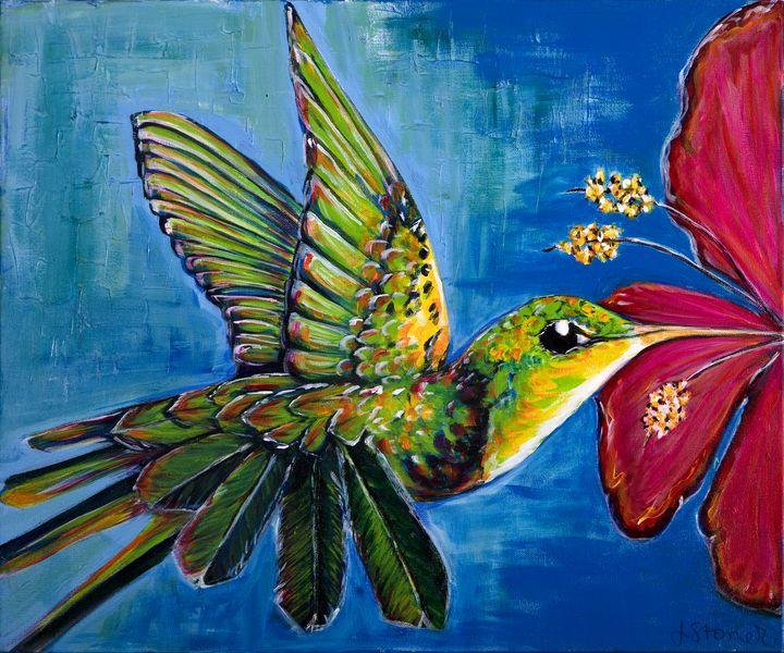 Hummingbird - J. Stoner Studio