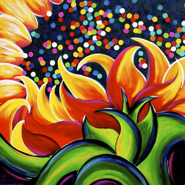 Gum Drop Sunflower - J. Stoner Studio