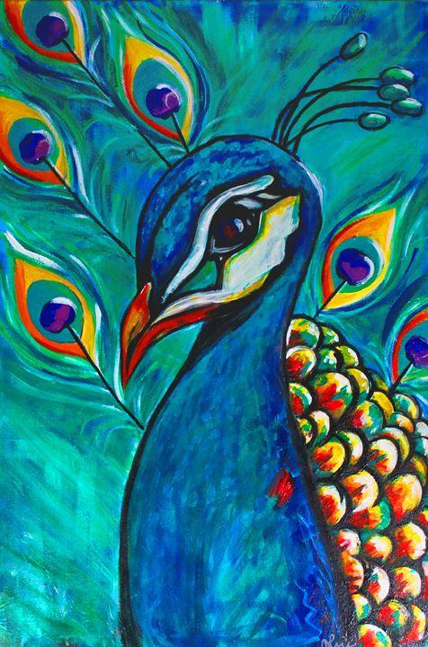 Peacock - J. Stoner Studio