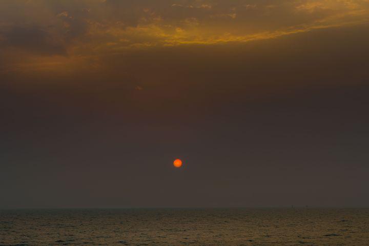 Sunset at Mumbai - Sujay Uikey