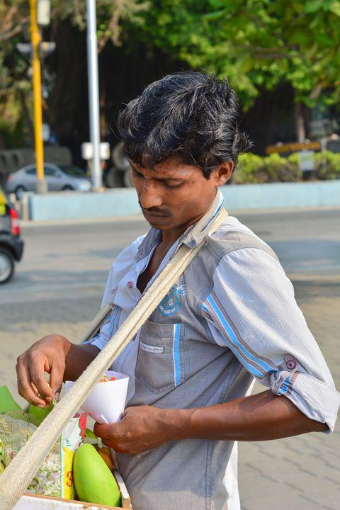 Street vendor - Sujay Uikey