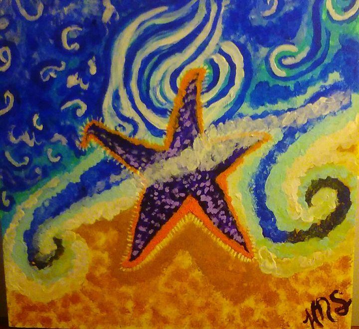 """STAR ASHORE"" - KayAnn's Cradle"