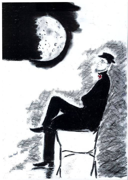 Man and the Moon - ellpoen
