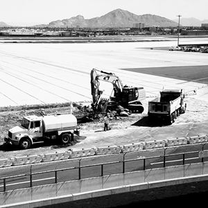 Phoenix sky harbor construction 2017