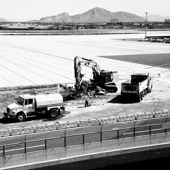 Phoenix sky harbor construction 2017 - HUNTERPC1