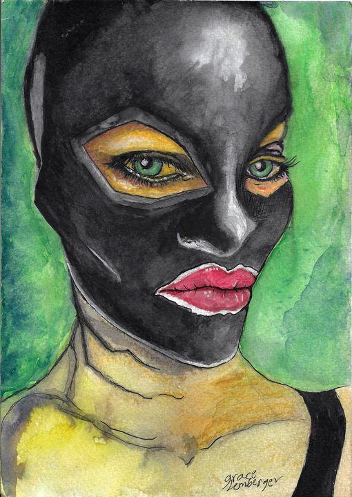 Green Aura - Grace Lemberger Art