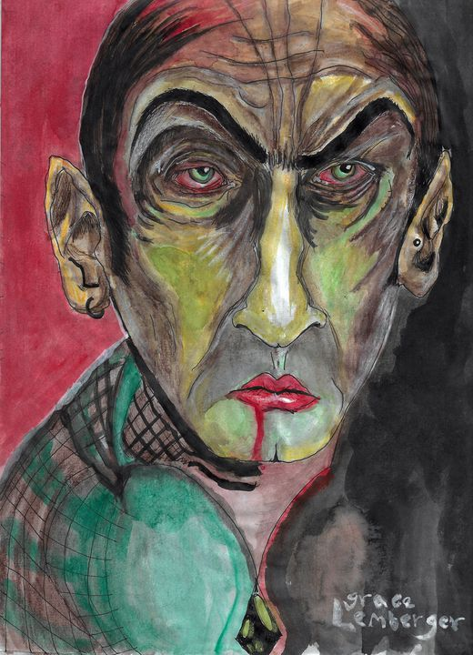 Nightmare Man - Grace Lemberger Art