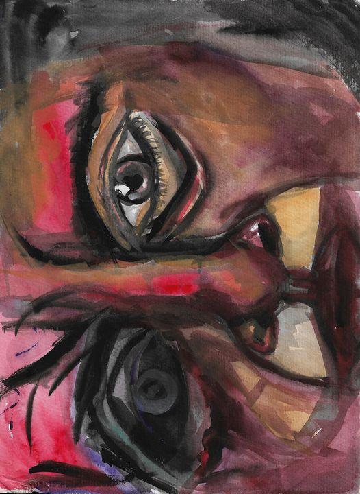 Inner Rage - Grace Lemberger Art