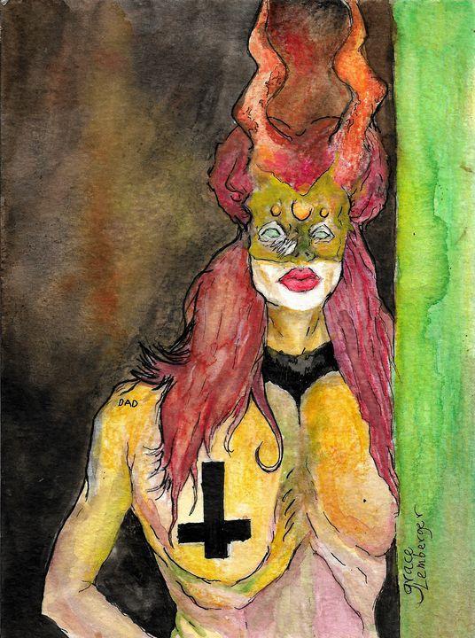 Mother of Darkness - Grace Lemberger Art