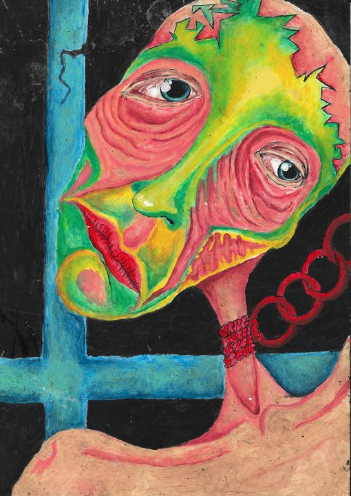 crooked mind - Grace Lemberger Art