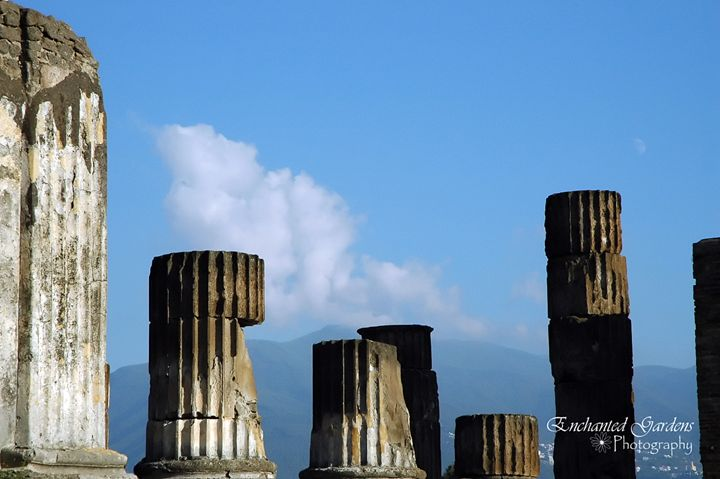 Columns Of Pompeii - Enchanted Gardens Photography