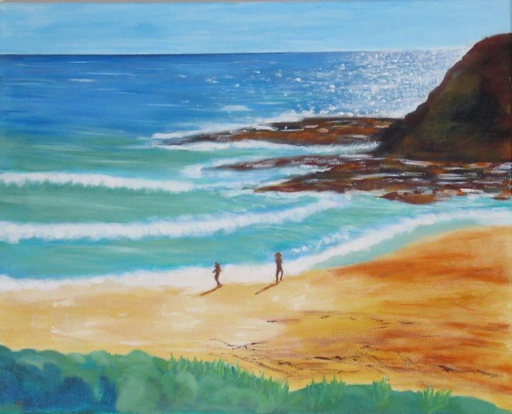 Beach near  bass strait - Grace Hodges