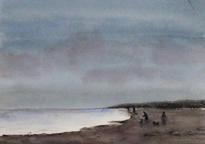 Playa nublada - Alicia Prado
