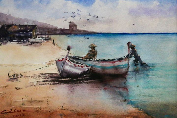Pescadores - Alicia Prado
