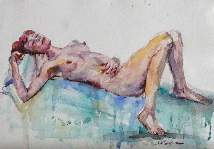 Desnudo del natural II - Alicia Prado