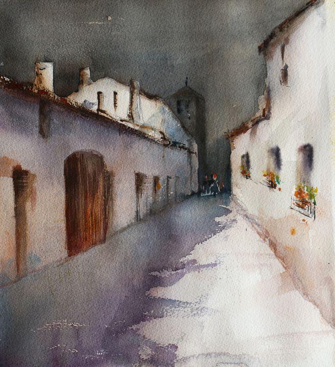 Pueblo oscuro - Alicia Prado