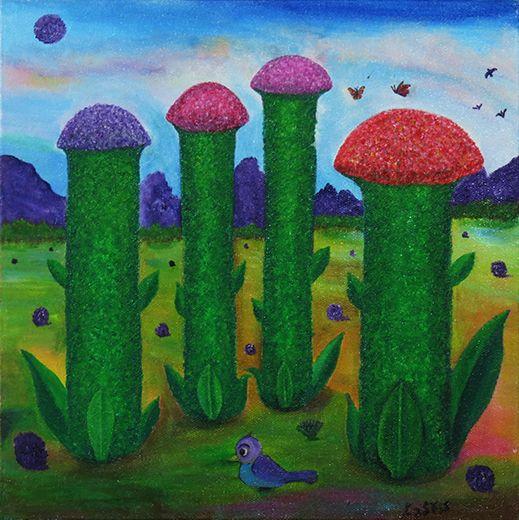 Space Flowers - Ezra Zaarur