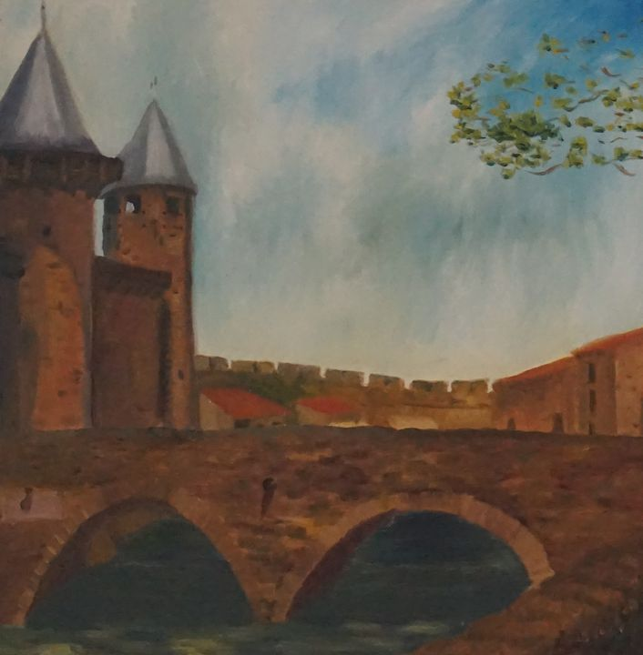 Carcassonne - Art by Gia