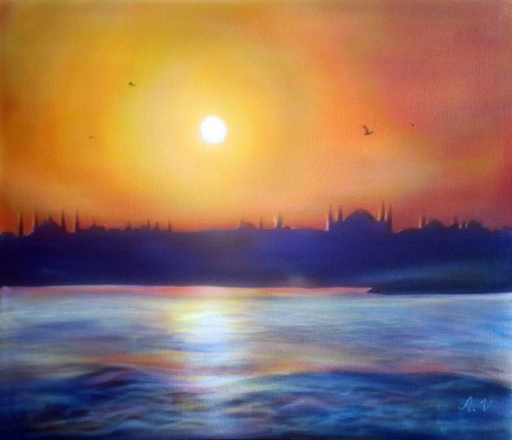 Sunset in Istanbul - veraerografia
