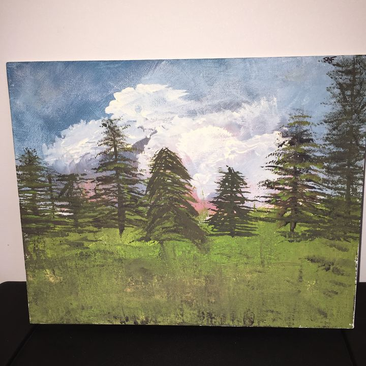 Trees in the sky - heARTwork Of Maine