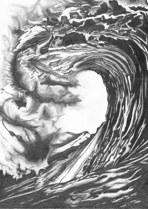 Ocean Wave - Anthony David Hobbs