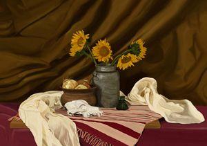 Sunflowers - Brinjen