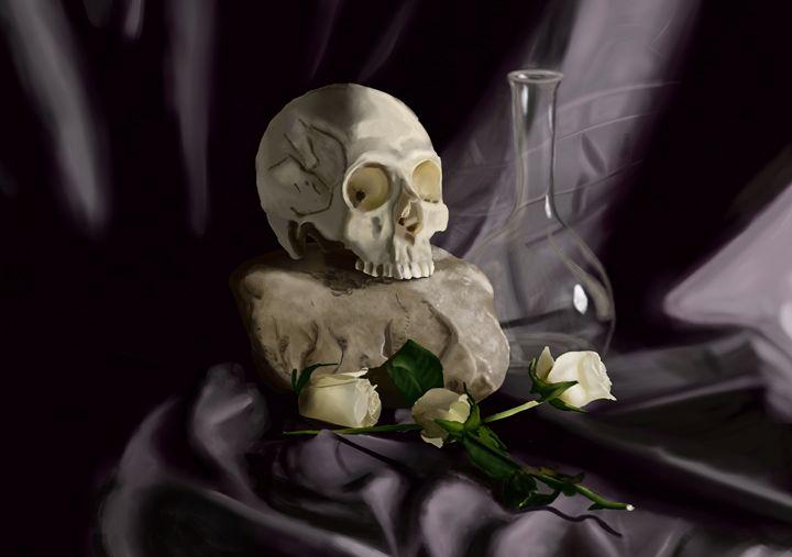 Skull n' Roses - Brinjen