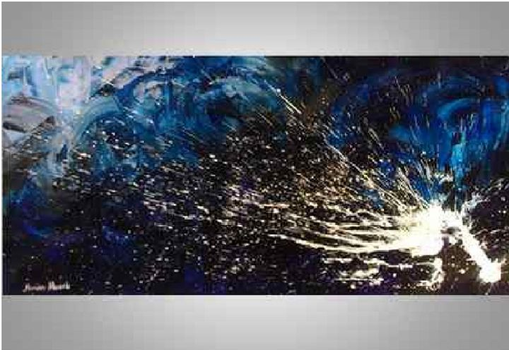 The Powers of Poseidon - Monika Mazek Art Paintings XL