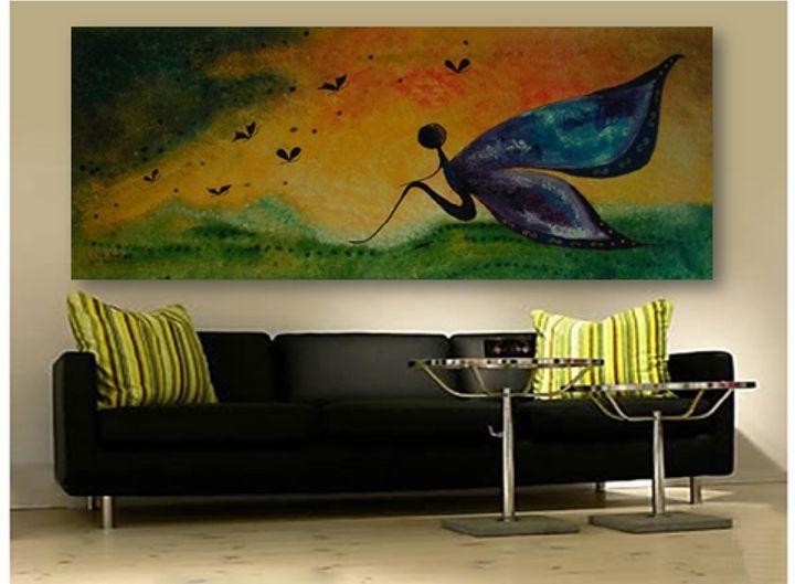 Imagination - Monika Mazek Art Paintings XL