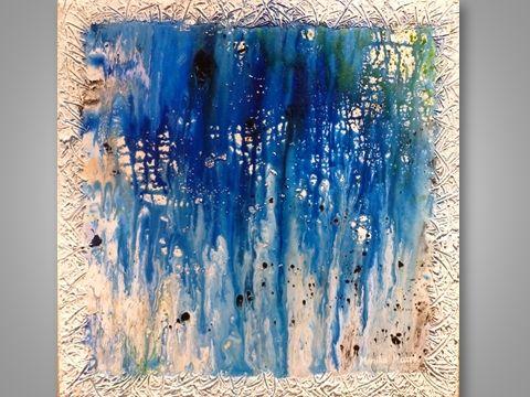 The  Caribbean Sea - Monika Mazek Art Paintings XL