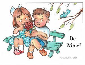 Be Mine? - Mark Winkelmans