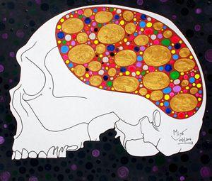 Inside of an artist's head