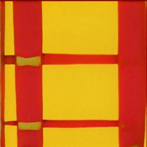 Red & Yellow Checkerboard Design