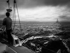 Stormy Sailing On Chappy