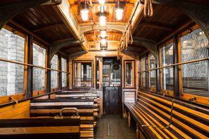 old tram interior